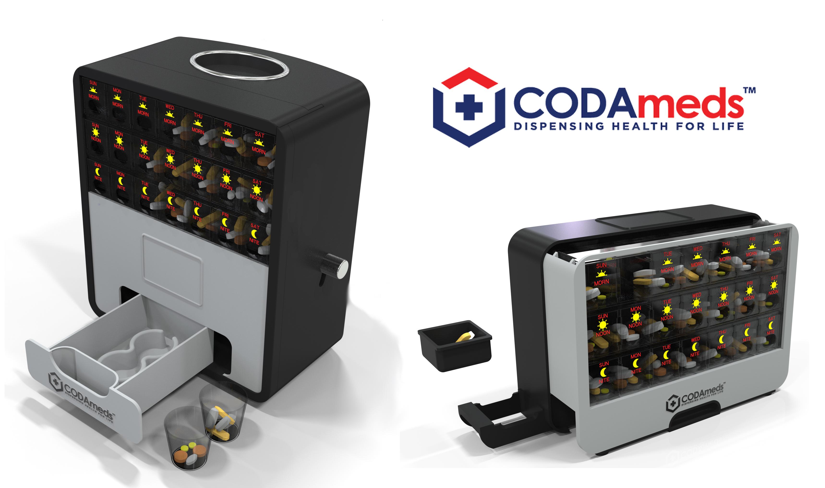 CODAmeds Dispenser Kickstarter copy
