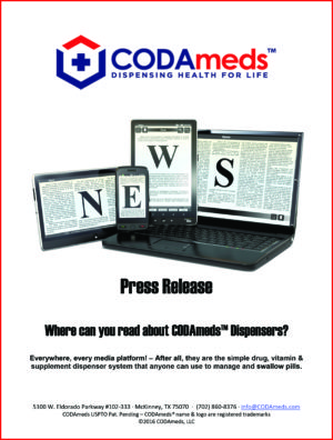 CODAmeds Media Ad Kit - CODAmeds Press Release-1
